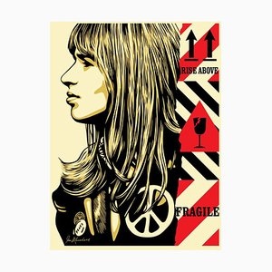Fragile Peace Serigraph by Shepard Fairey