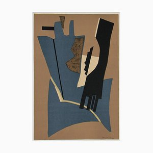 Lithograph by Alberto Magnelli, 1975