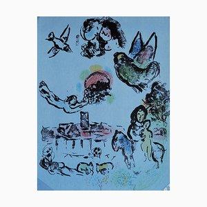 Marc Chagall - Nocturne à Venice - Lithograph