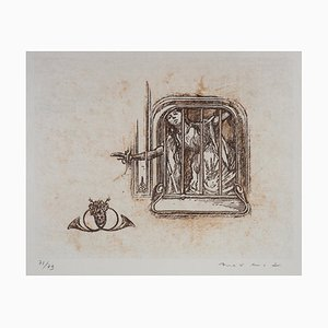 The Fugue Lithograph by Max Ernst