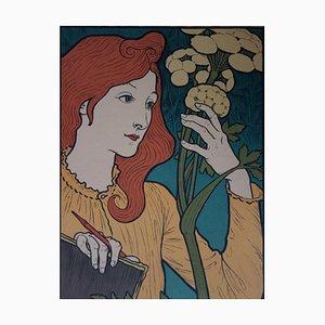 Litografia Exhibition of Grasset di E. Grasset