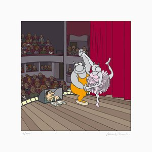Ballet Digigraph by Philippe Geluck, 2017
