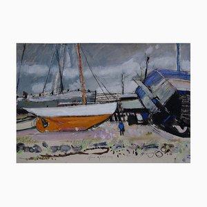 La Rochelle Painting by Rene Genis