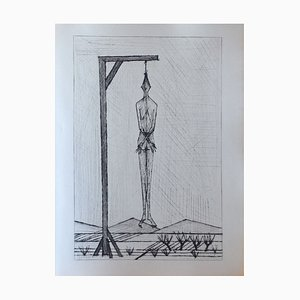 Les Chants de Maldoror I (2) by DrypointBernard Buffet