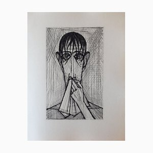 Les Chants de Maldoror I (4) Drypoint by Bernard Buffet