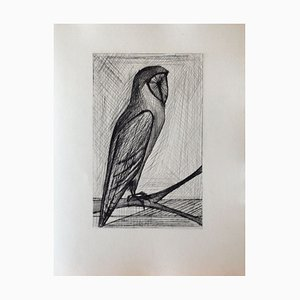 Les Chants de Maldoror I (11) Drypoint by Bernard Buffet