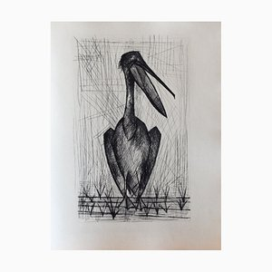Les Chants de Maldoror II (2) Drypoint by Bernard Buffet