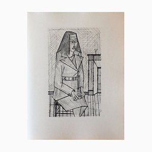 Les Chants de Maldoror II (3) Drypoint by Bernard Buffet