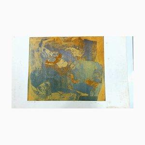 Sans Titre Lithograph by Georges Visat