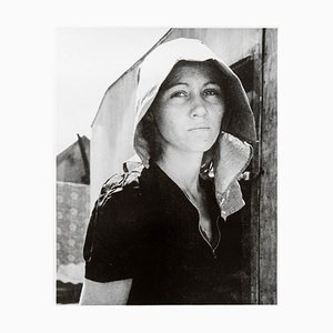 Stampa Young Migratory Mother Silver Gelatine di Dorothea Lange, 1940