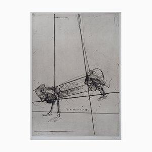 Tamerlano Engraving by Dado, 1990