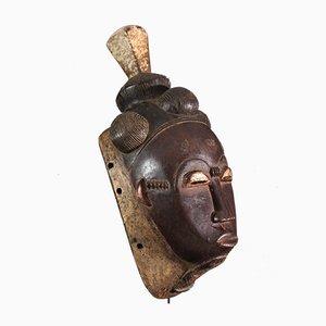 Ivory Coast - Large Baoule mask, Baule, Ndoma
