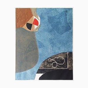 Incisione Black and Blue di Max Papart, 1975