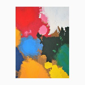 Reproduction de The Palette de the Artist Stencil par Joan Miro, 1967
