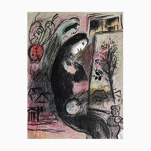Inspiration Lithograph by Marc Chagall