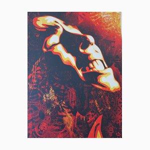 Shepard Fairey (Obey), Bob Marley   Slave Driver, 2015, signed silkscreen