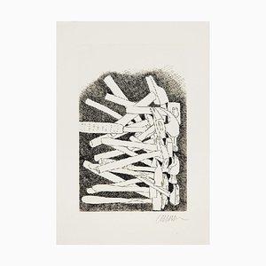 Incisione The Hammers di Fernandez Arman, 1993