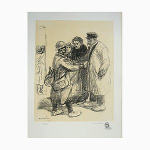 We Don't Not Care Lithograph by Théophile Alexandre Steinlen, 1916