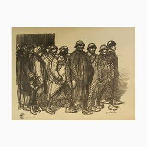 See You Soon for Good! Lithograph by Théophile Alexandre Steinlen