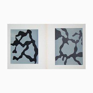 Relief I. + II. Une gravure sur bois par Jean Arp, 1954