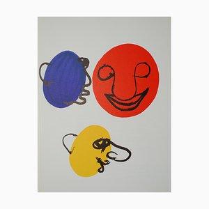 Derrière le Miroir Calder (6) Lithographie von Alexandre Calder