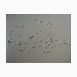 Pierre AMBROGIANI - Delicacy, Original drawing, Signed