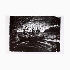 """Lorenzo MATTOTTI - """"Tiepolo 2 (La Barque)"""", lithograph, 2016"""