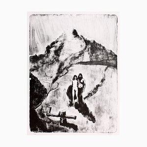 Le Pays de la Soif Lithograph by Christian Hincker dit Blutch, 2017