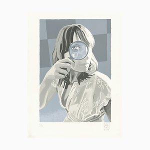Litografia Ein Blick (Un Coup d'Œil) di Loulou Picasso, 2018