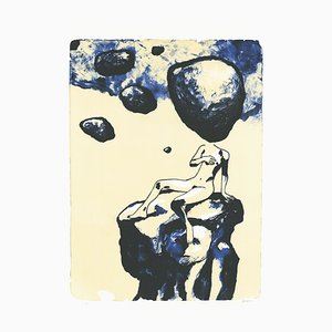 Je t'Aime Lithograph by Edmond Baudoin, 2018