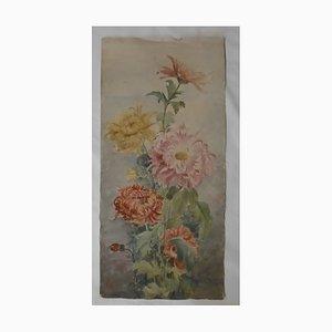 Acquerello Bouquet de Fleur di Maurice Savin, 1911