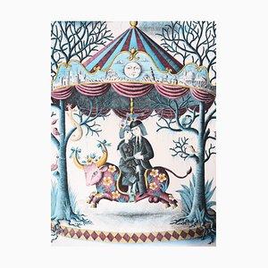Signe du Zodiaque, Le Taureau Gravure by Raymond Peynet
