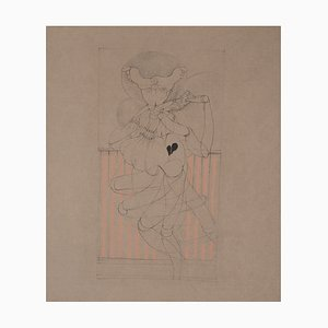 Deconstruction of a Dancer Etching by Hans Bellmer