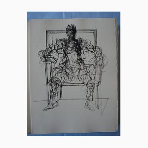 The Knight of the Charette Illustrated with 22 Drypoints by Claude Weisbuch