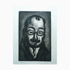 The Colonel Officer Etching by Georges Rouault