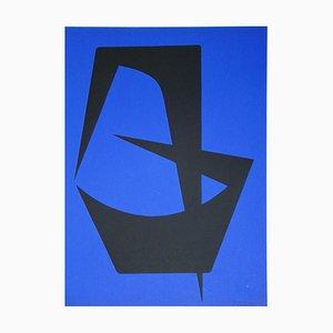 Litografia Composition pour Art Abstrait di Madaleine Forani, 1953
