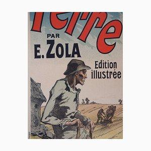 Paysan de Zola Lithograph by Jules Chéret, 1897