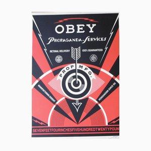 Propaganda Service 2014 Offsetdruck von Shepard Fairey