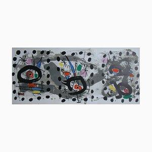 Oiseau Solaire, Oiseau Lunaire, Étincelles di Joan Miro, 1967