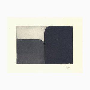 Espais 8 Radierung von Alfons Borrell Palazon, 1990