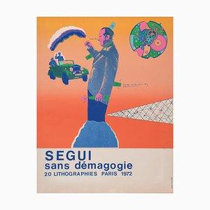 Antonio Segui - Sans Démagogie 72 (1) - Lithograph