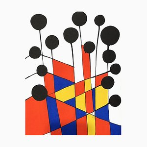 Composition Lithograph by Alexander Calder