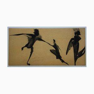 Nathalie GRALL - Hubris & Logos - Original signed etching