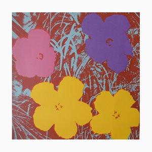Andy WARHOL (after) - Poppy Flowers Screenprint Sunday B Morning, Silkscreen