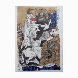 Antoni CLAVE - Les deux aventuriers et le talisman, Originale Lithographie, signée