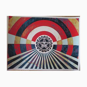 Tunnel Vision Version 2 by Obey Shepard Fairey