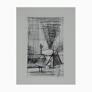 Naples (9) - Drypoint by Bernard Buffet