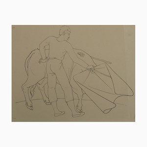Dessin Le Brave Toréador par Pierre-Yves Tremois, 1959
