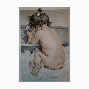 La Poupée Lithograph by Marguerite Delorme, 1897