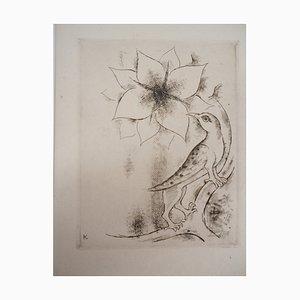Incisione Spring Flower di Kiyoshi Hasegawa